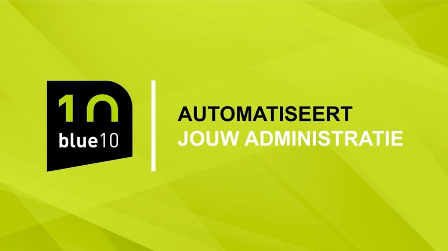 Blue10 automatiseert jouw administratie video